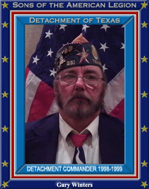 Gary Winters Commander Detachment of Texas 1998 - 1999